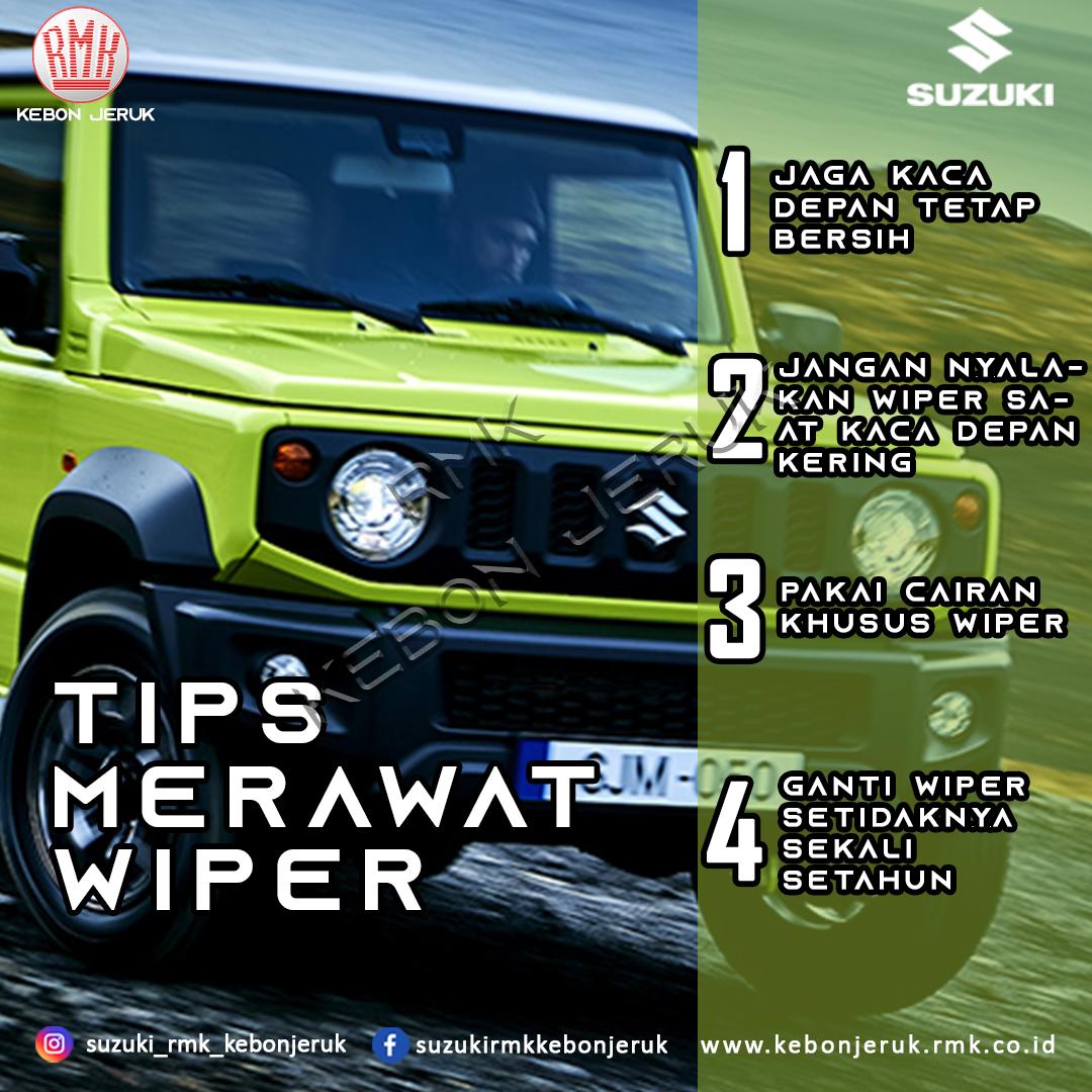 Tips Merawat Wiper kaca depan Mobil