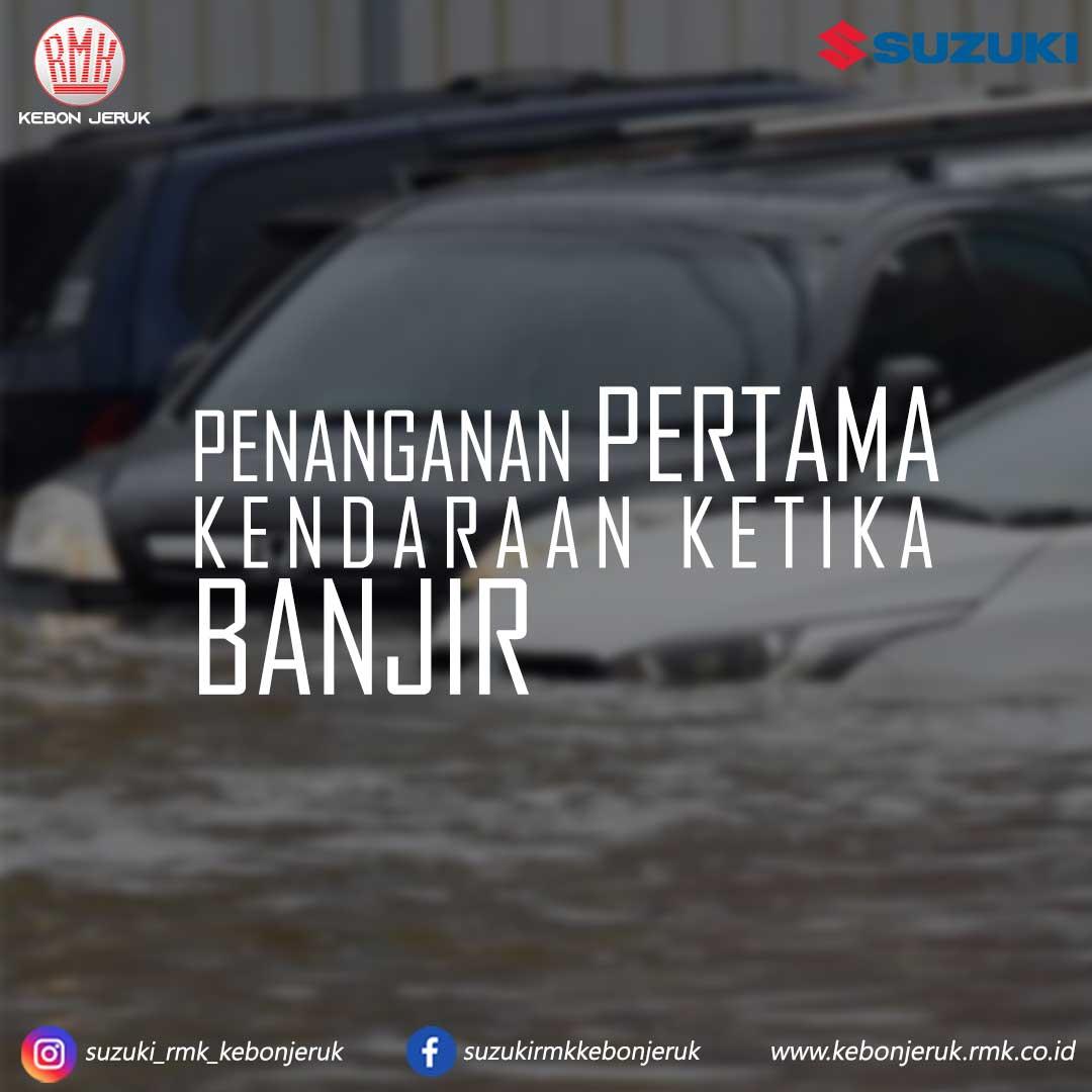 Tips penanganan pertama jika mobil terendam banjir RMK Kebon Jeruk