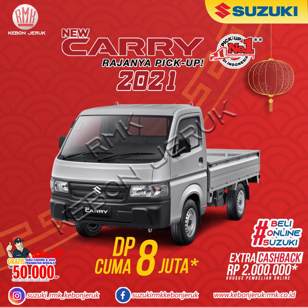 pesta imlek suzuki new carry 2021 extra cashback