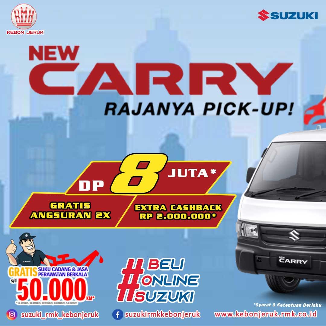 Suzuki Carry Pick Up 2021-RMK Kebon Jeruk-Promo februari