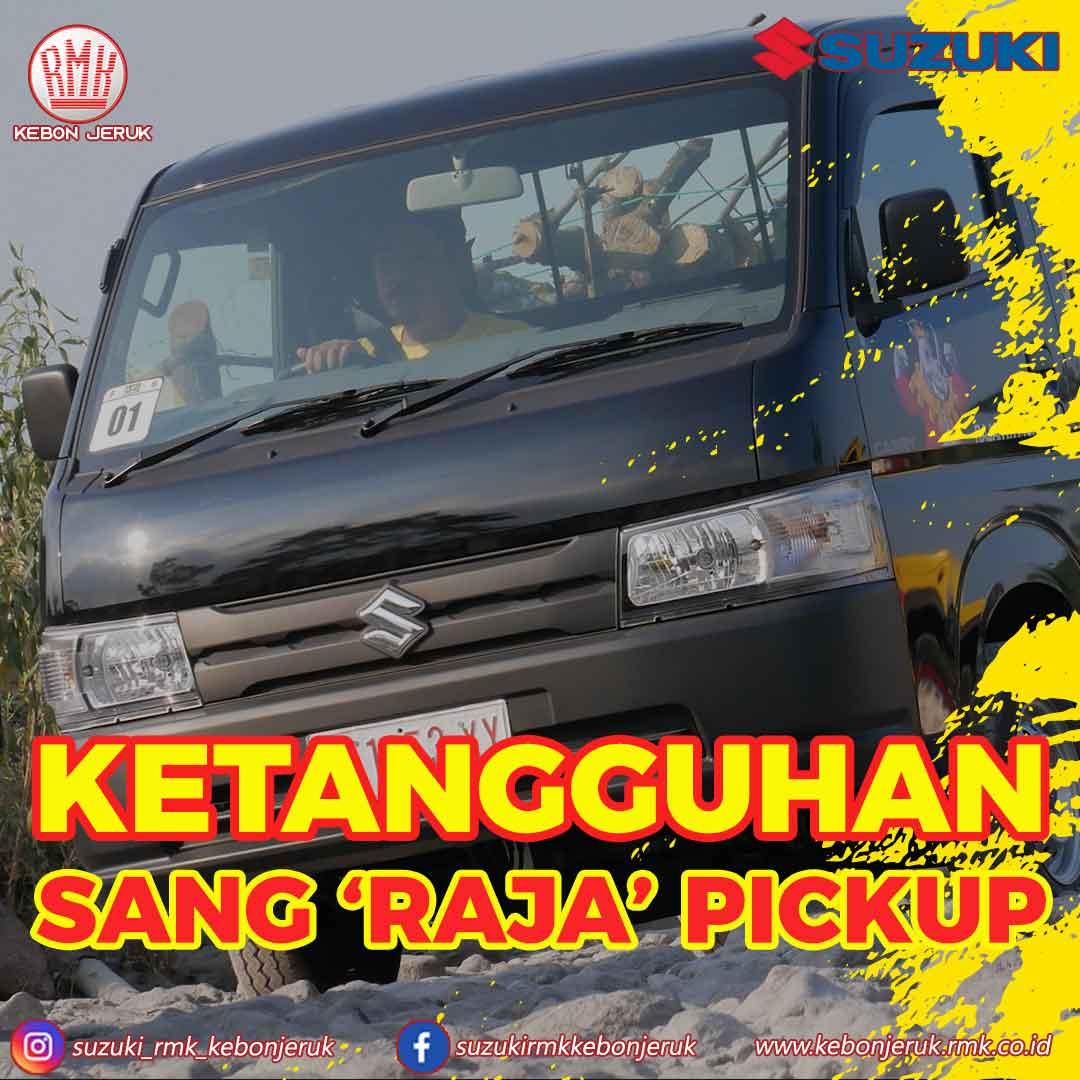 all new carry ketangguhan sang raja pickup suzuki rmk kebon jeruk